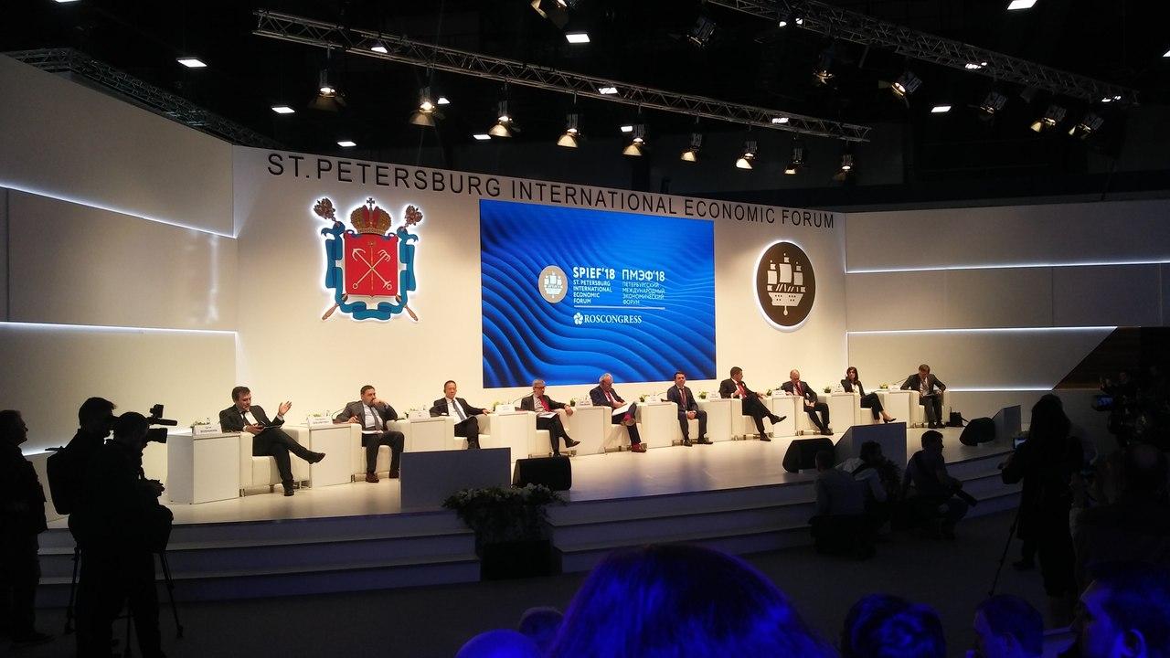 Представители региона на Петербургском Международном Экономическом Форуме (ПМЭФ 2018)