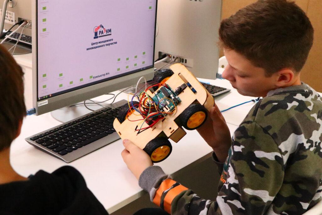 Работа над индивидуальным роботом